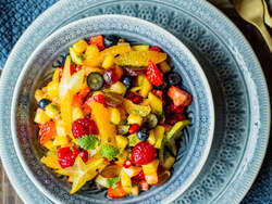 Fristende fruktsalat