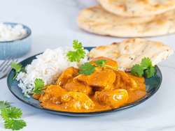 Enkel butter chicken