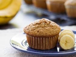 Bananmuffins med havregryn