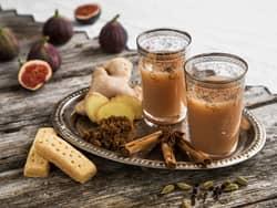 Hjemmelaget Chai latte