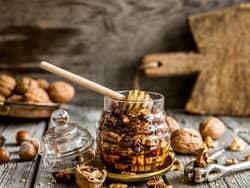 Nøtter i honning