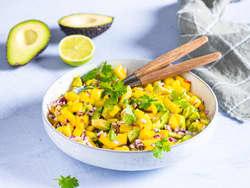 Mango- og avokadosalat