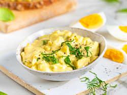 Eggesalat med purre