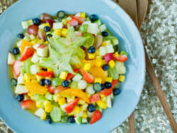 Frisk og lett fruktsalat