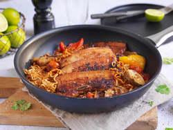 Asiatisk grillribbe