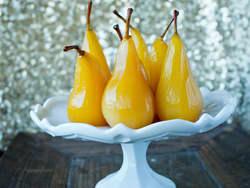 Krydderkokte karamellpærer
