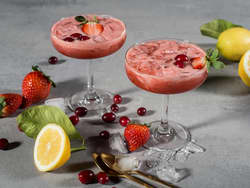 Mocktail med bær