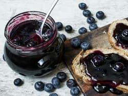 Hjemmelaget blåbærsyltetøy