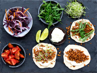 Grønn taco