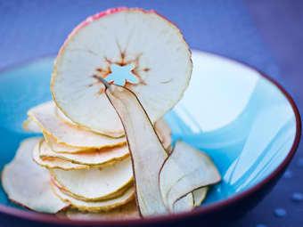 Eple- og pærechips