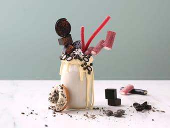 Milkshake med lakris