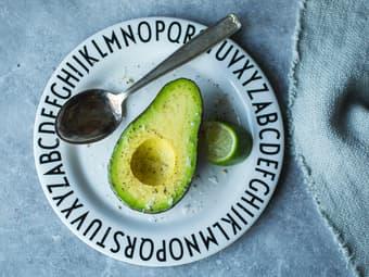 Avokado med lime