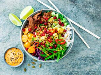 Vegetarisk Buddha bowl