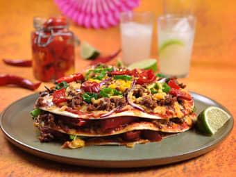 Meksikansk tacopizza