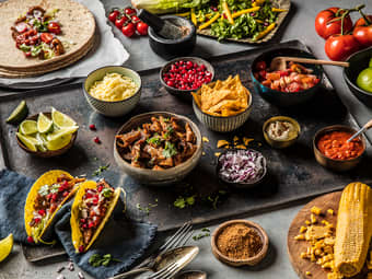 Kjøttfri taco med vegetardeig