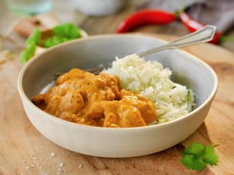 Thai red curry med kylling