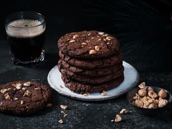 Sjokoladecookies med Coca-Cola