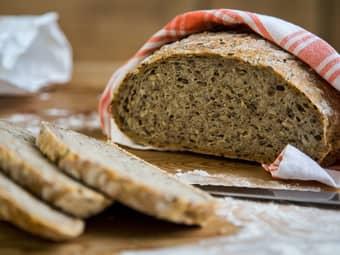 Eltefritt grytebrød med kli og kjerner