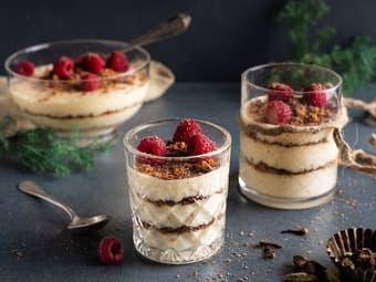 Dronning Maud dessert