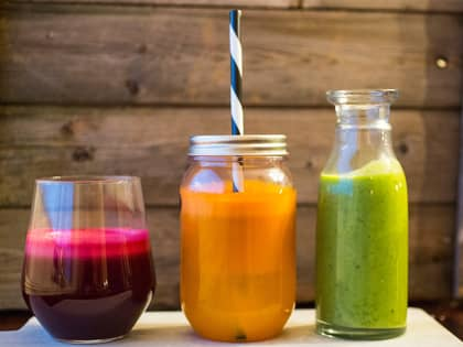 7 fristende juice og smoothie
