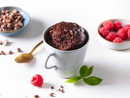 Brownie i kopp