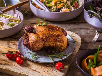 5 raske middager med nygrillet kylling
