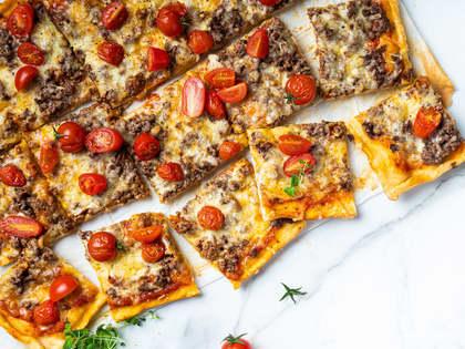 Slik gjør du pizza litt sunnere