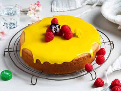 Saftig kake med Sprite