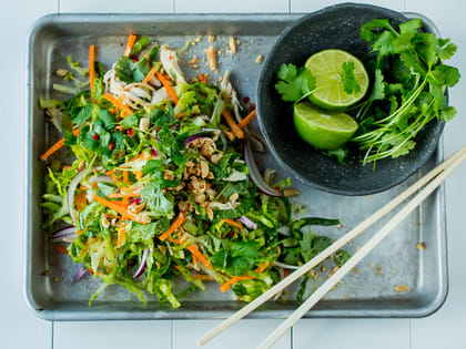 Kyllingsalat à la Vietnam
