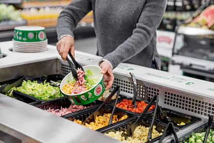 Salatbar: Sunt, godt og enkelt