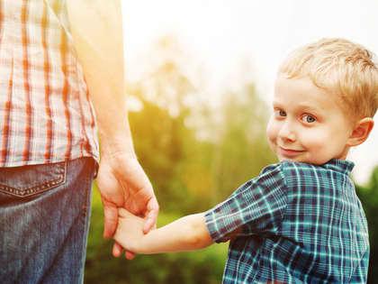 Gullkorn fra barnemunn om far