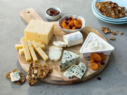 Enkelt ostefat
