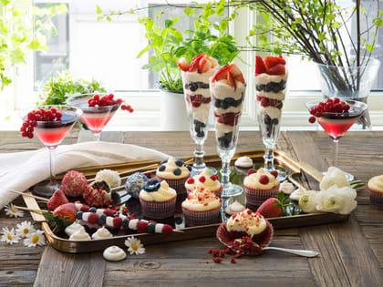 Små desserter til 17. mai