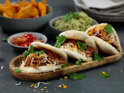 Steamed taco buns