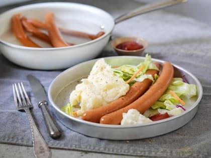 Wienerpølser med potetmos