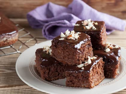 Saftig laktosefri sjokoladekake