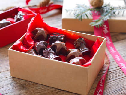 Hjemmelaget konfekt og sjokoladetrøfler
