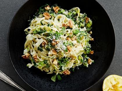Kremet pasta med ricotta