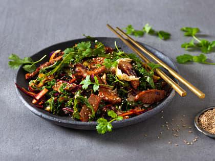 Rask wok med lam