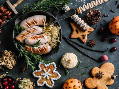 Kast mindre mat i julen