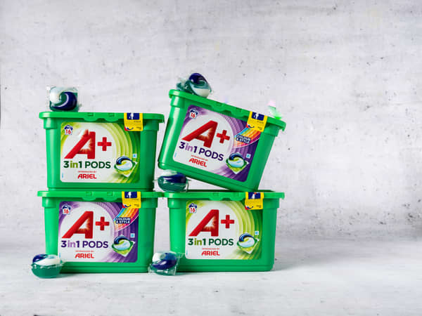 Ariel vaskemiddel: 2 for 79kr