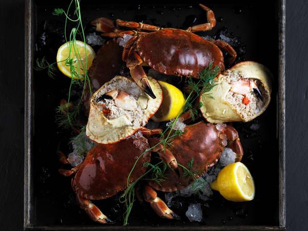 Lag noe godt med krabbe