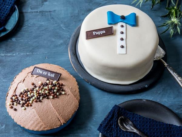 Kjøp en deilig kake i butikk til farsdag!