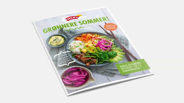 Bla i frukt og grønt magasiner