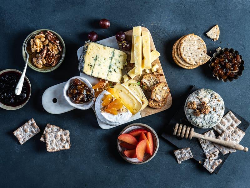 Lag et lekkert ostefat