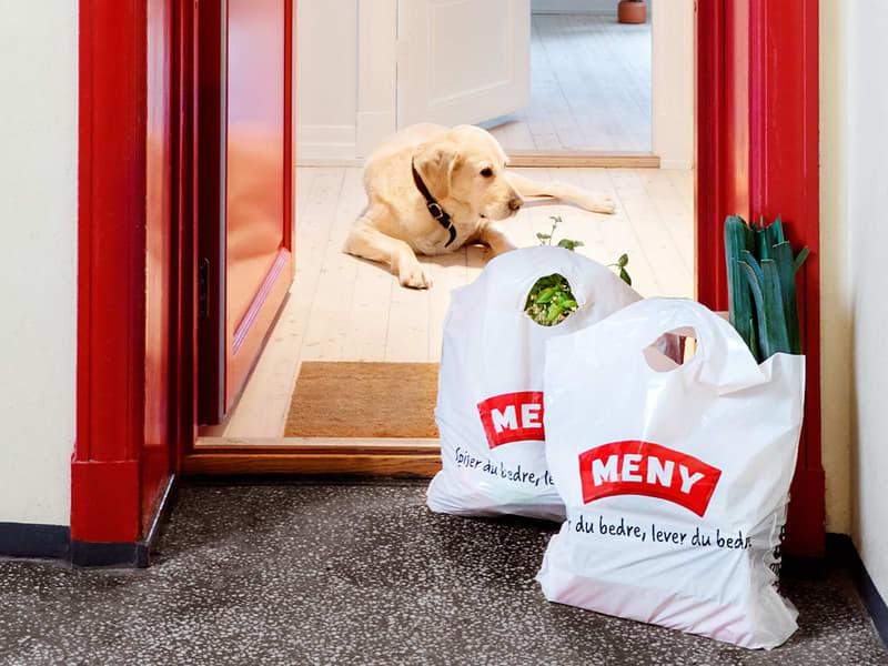 Få matvarene levert hjem