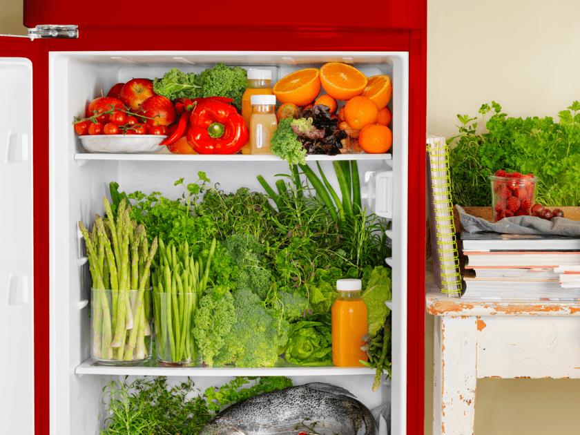 Slik oppbevarer du maten riktig i kjøleskapet