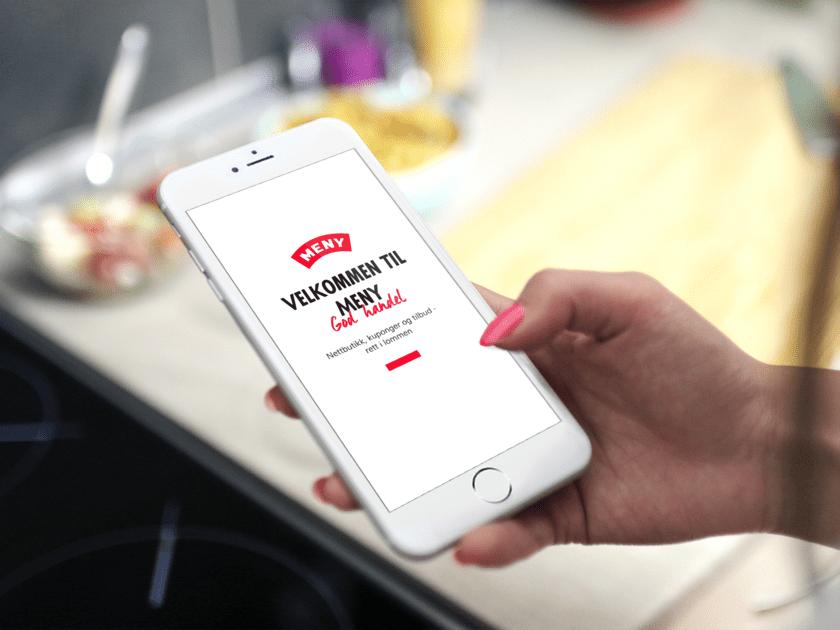 Enklere handel med MENY-appen