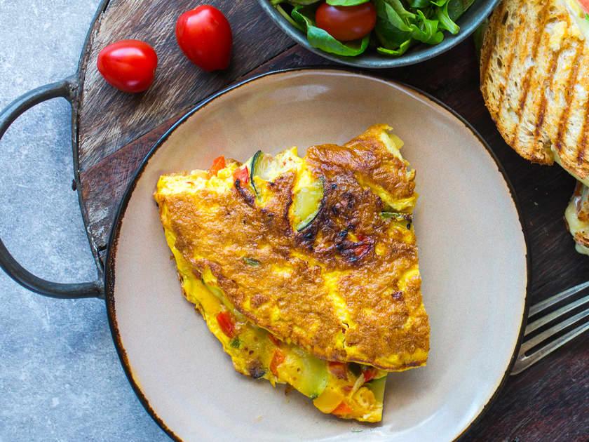 Så lett lager du omelett