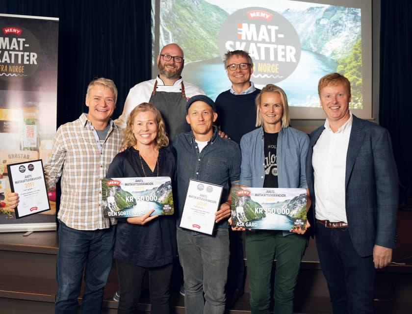 Økologisk spekepølse til topps i Norges største lokalmatpris